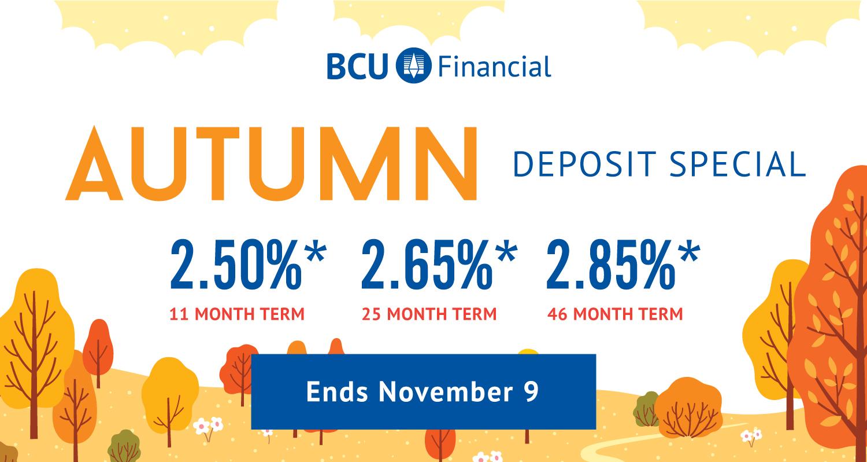 Autumn Special Ends November 9