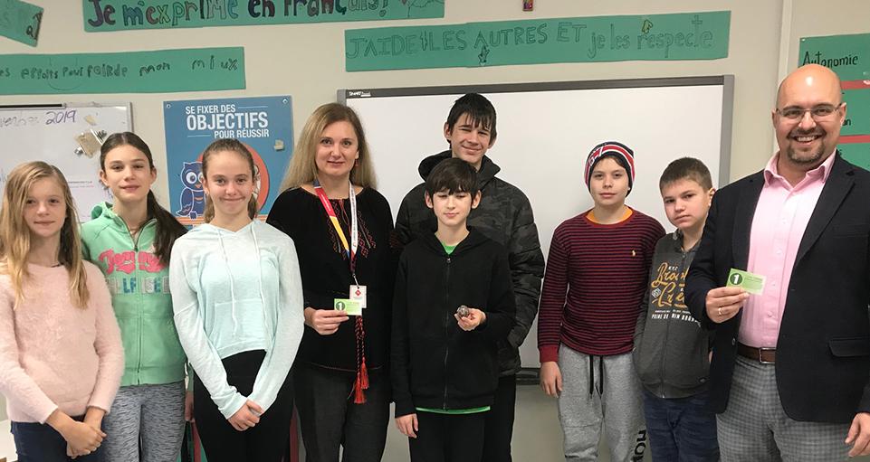 Ottawa school visit