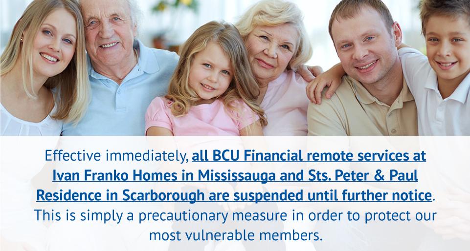 BCU remote service suspended