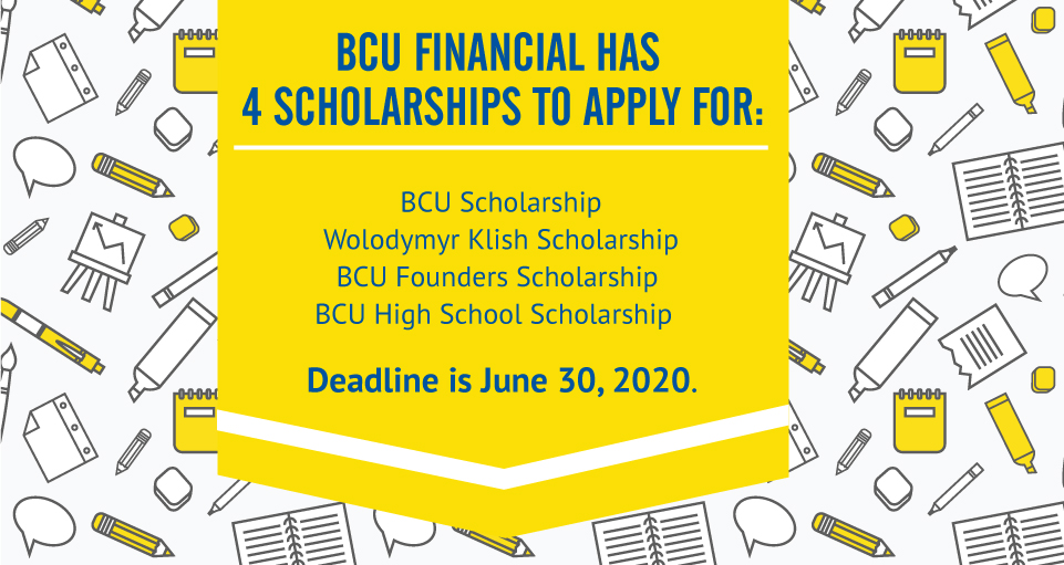 bcu financial scholarships
