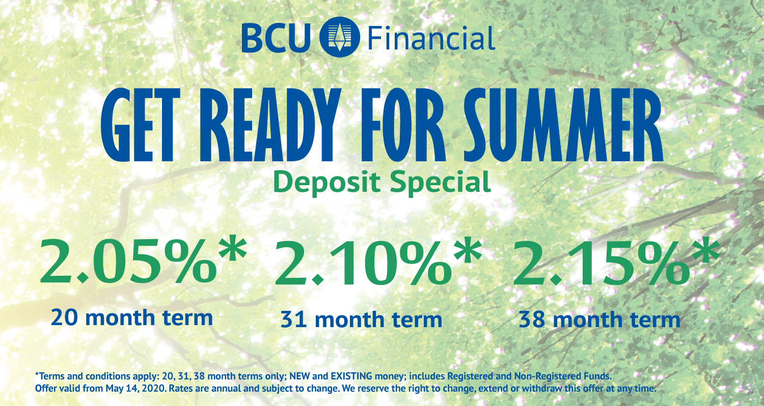 Get ready for summer deposit special