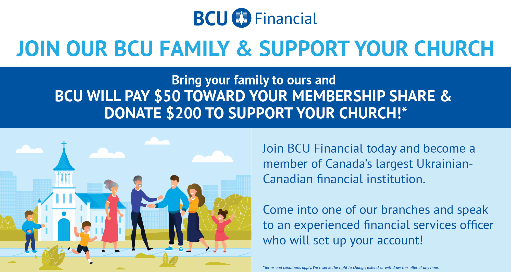 Join BCU Support Your Church