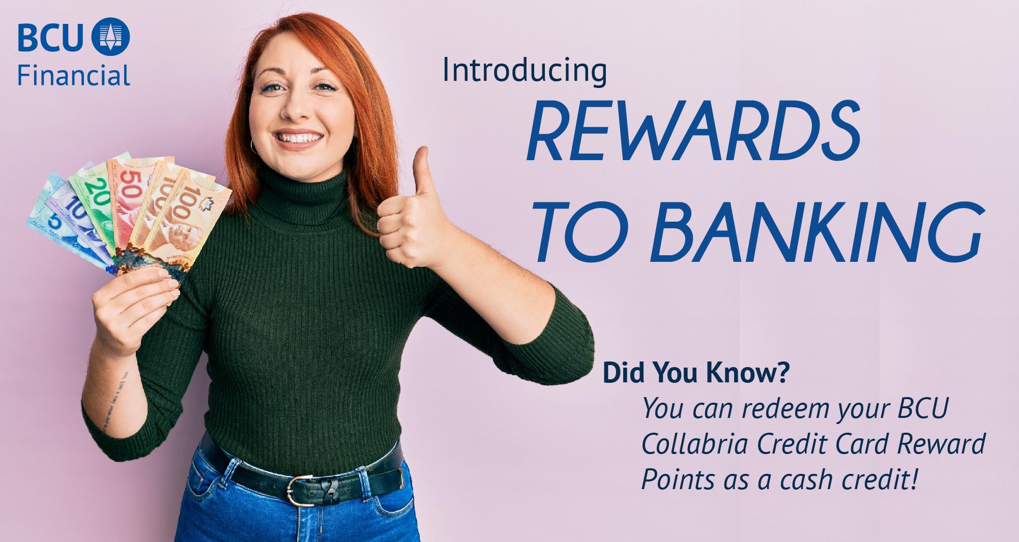 BCU Rewards to Banking