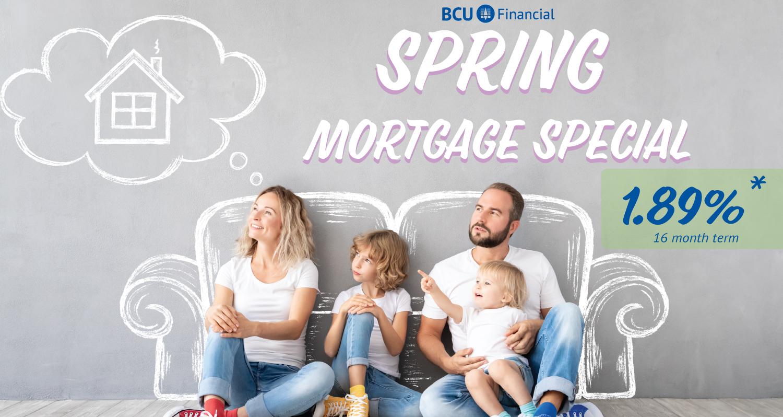 BCU Spring Mortgage Special