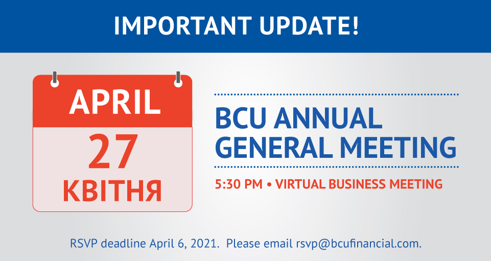 BCU Annual General Meeting