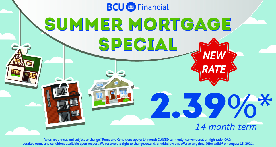 Summer Mortgage Special - New Rate
